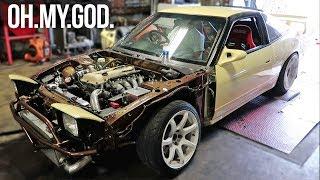 BUILT SR20DET GETS TUNED! + First Drive! thumbnail