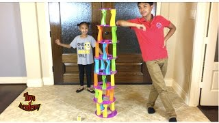 Tower Crash Challenging Family Game Unboxing | Toys Academy