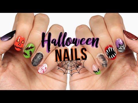 New Nail Art 2018 10 Halloween Nail Art Design Compilation