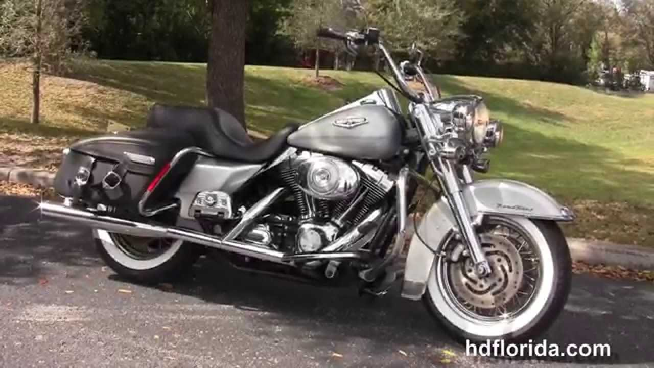 used 2005 harley davidson flhrc road king classic motorcycles for sale youtube. Black Bedroom Furniture Sets. Home Design Ideas