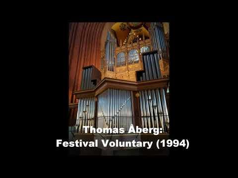 Stockholm St. John's - Thomas Åberg: Festival Voluntary (1994)