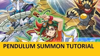 How To: Pendulum Summon (Simple Tutorial) || Yugioh ||