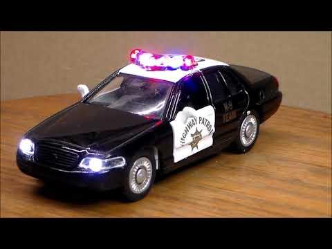 Custom Lighted Crown Vic Interceptor Highway Patrol