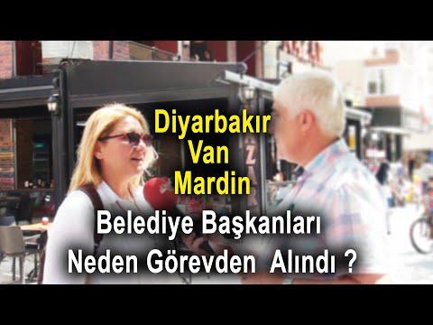 Diyarbakır, Van ve Mardin Belediye Başkanları Görevden  Alındı Halkı Ne Diyor?