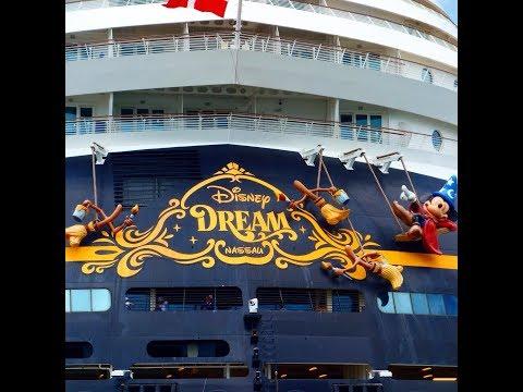 Walk along with Jeff MacKay aboard the Disney Dream.  part 1
