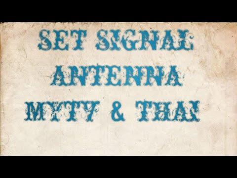 cara set antena frequency mytv & thai - YouTube
