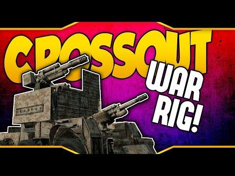 Crossout ➤ War Rig Build - 100mm & 88mm Sniper [Crossout Gameplay]