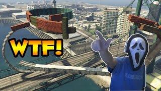 GTA V ONLINE - MUITA ADRENALINA NO WALLRIDE ESTRANHO - FUNNY MOMENTS + LINK DA CORRIDA #BDM PS4