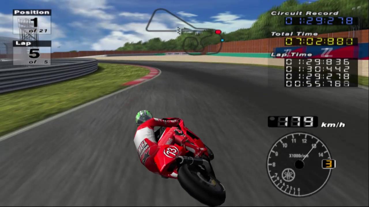 MotoGP 3 PS2   Free Practice #1 - YouTube