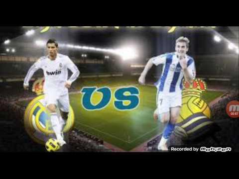 Real Madrid Vs Real Sociedad Live Stream La Liga Match Youtube