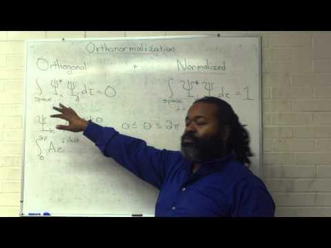 Orthonormalization