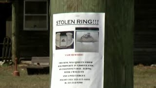 Stolen engagement ring found on another woman's finger, deputies say