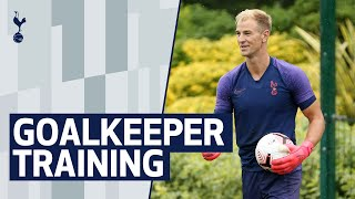GOALKEEPER TRAINING | Joe Hart trains at Hotspur Way