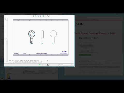 CREOSON - Export Drawing Sheets to DXFs