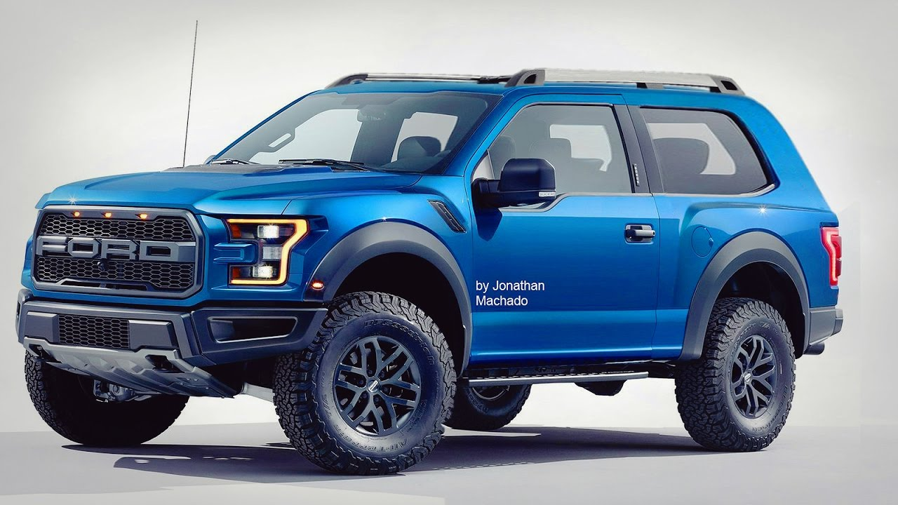 MAKING OF New 2018 Ford Bronco @ F-150 - YouTube