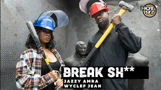 Jazzy Amra & Wyclef Jean Meet up to BREAK SH** | Jazzy Amra, Single Single LIVE