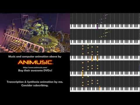 Animusic - Pipe Dream [Synthesia sheet music]