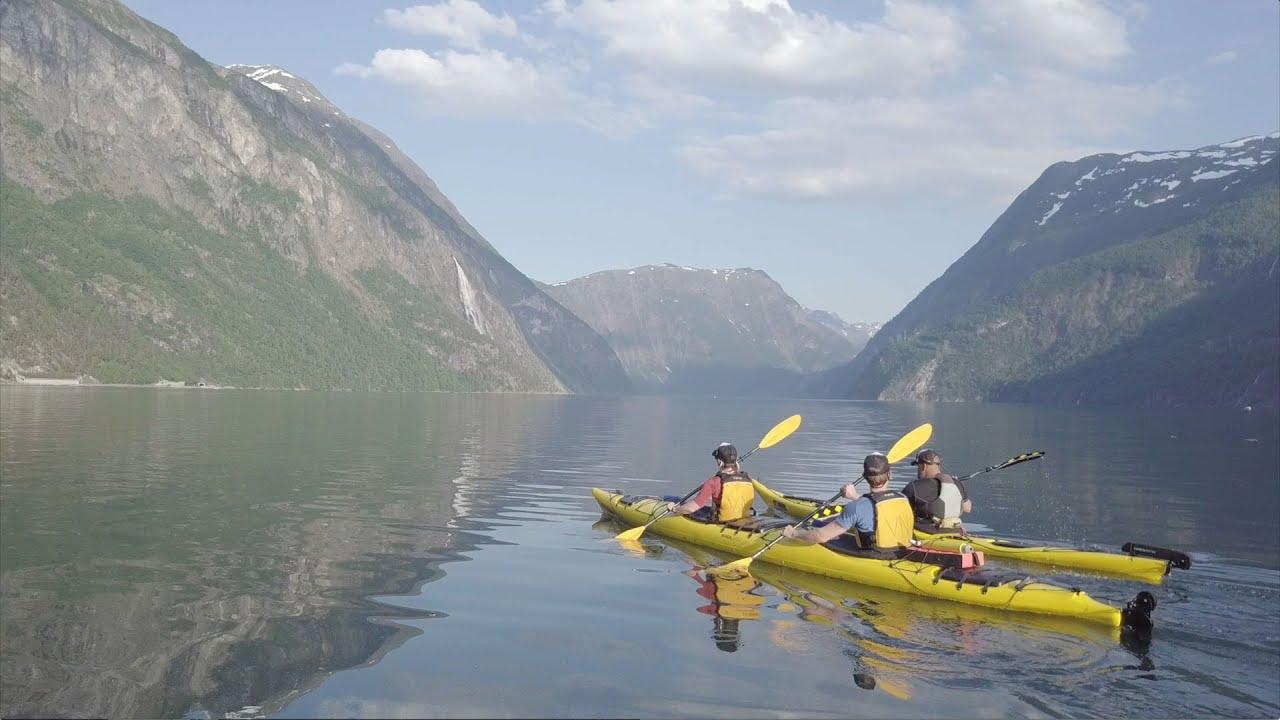 Kayaking from Vallda to Tafjord