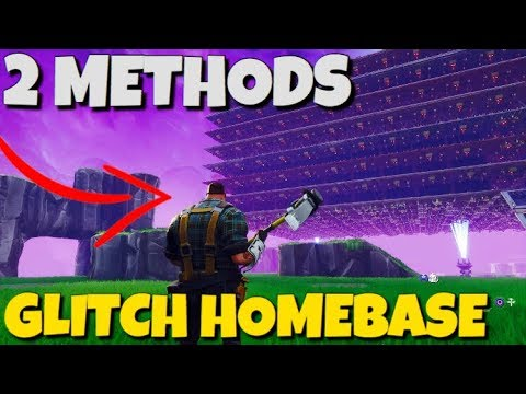 How To Glitch Your Homebase *2 METHODS* 2020 Fortnite Save The World