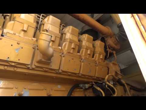 Caterpillar 2000KW Mobile Generator Set Load Test