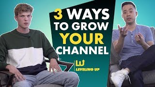 3 Ways to Grow A YouTube Channel to 10K Subs and Beyond
