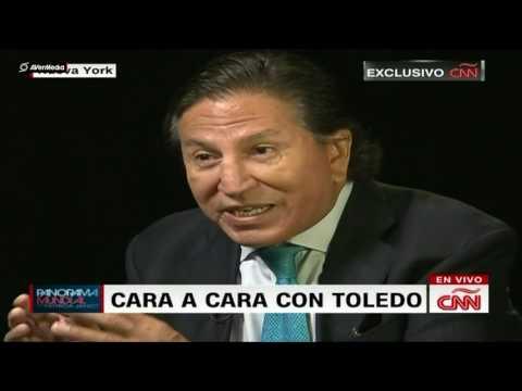 Alejandro Toledo en CNN