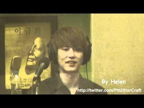 110812 KTR- Kyuhyun, Yesung, Eunhyuk sing T.O.P
