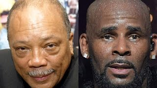 Quincy Jones Makes An ALARMING Statement About R.Kelly To The Media Today!!