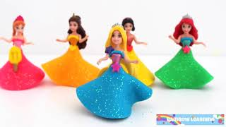 Play Doh Dsney Princess Popsicle Dress Up