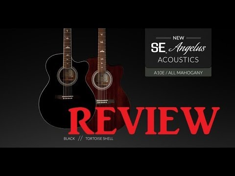guitar review prs angelus se a10e youtube