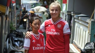 Leah Williamson Launches Coaching For Life Project In Indonesia | Save The Children