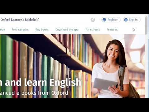 How To Add E-books To Your Oxford Learner's Bookshelf