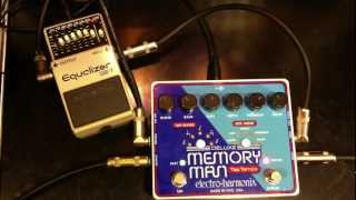 Deluxe Memory Man Tap Tempo Effects loop Vintage Boss GE-7