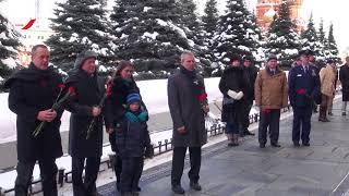 Экипажи МКС-55/56 посетили Красную площадь