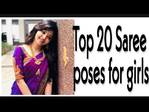 Top 20 Saree Poses For Girls Photography Ideas In Saree Youtube