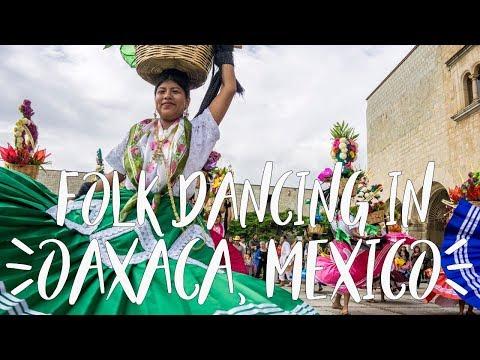 Mexico Mini Vlog | Folk dancing at the Guelaguetza Festival in Oaxaca