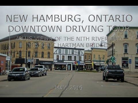 New Hamburg, Ontario: Downtown Driving Tour (May, 2019)