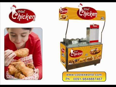 at gudivada in india one person is offering  restaurant supply for fried chicken franchise