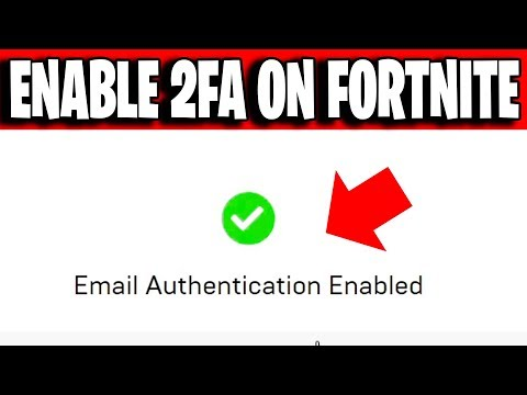 HOW TO ENABLE 2FA ON FORTNITE Chapter 2