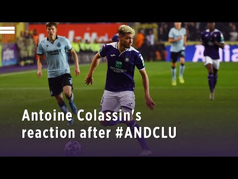 Antoine Colassin's reaction after #ANDCLU