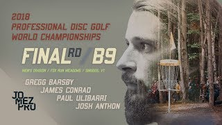 2018 Pro Worlds | Lead Card | Final RD, B9 | Barsby, Ulibarri, Conrad, Anthon