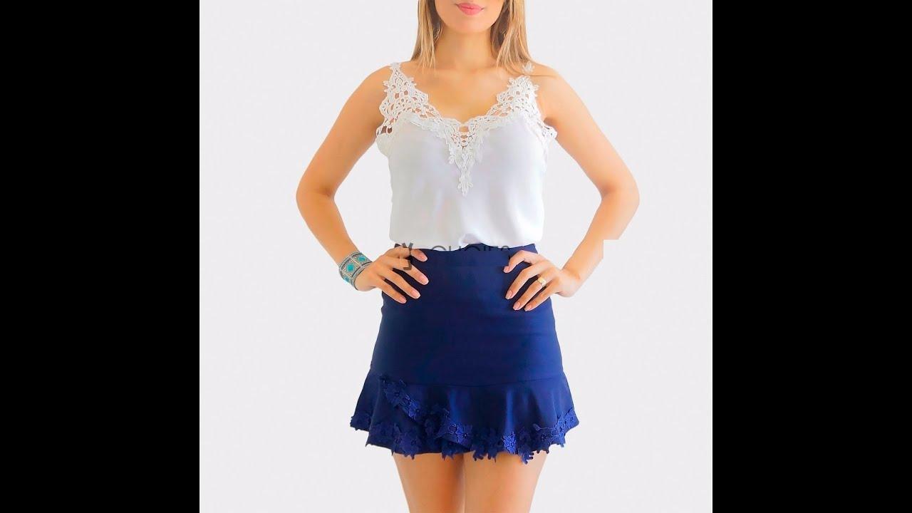 129e51674a Promoção Blusa Renda Guipir Regata Viscose Feminina Blusas - YouTube