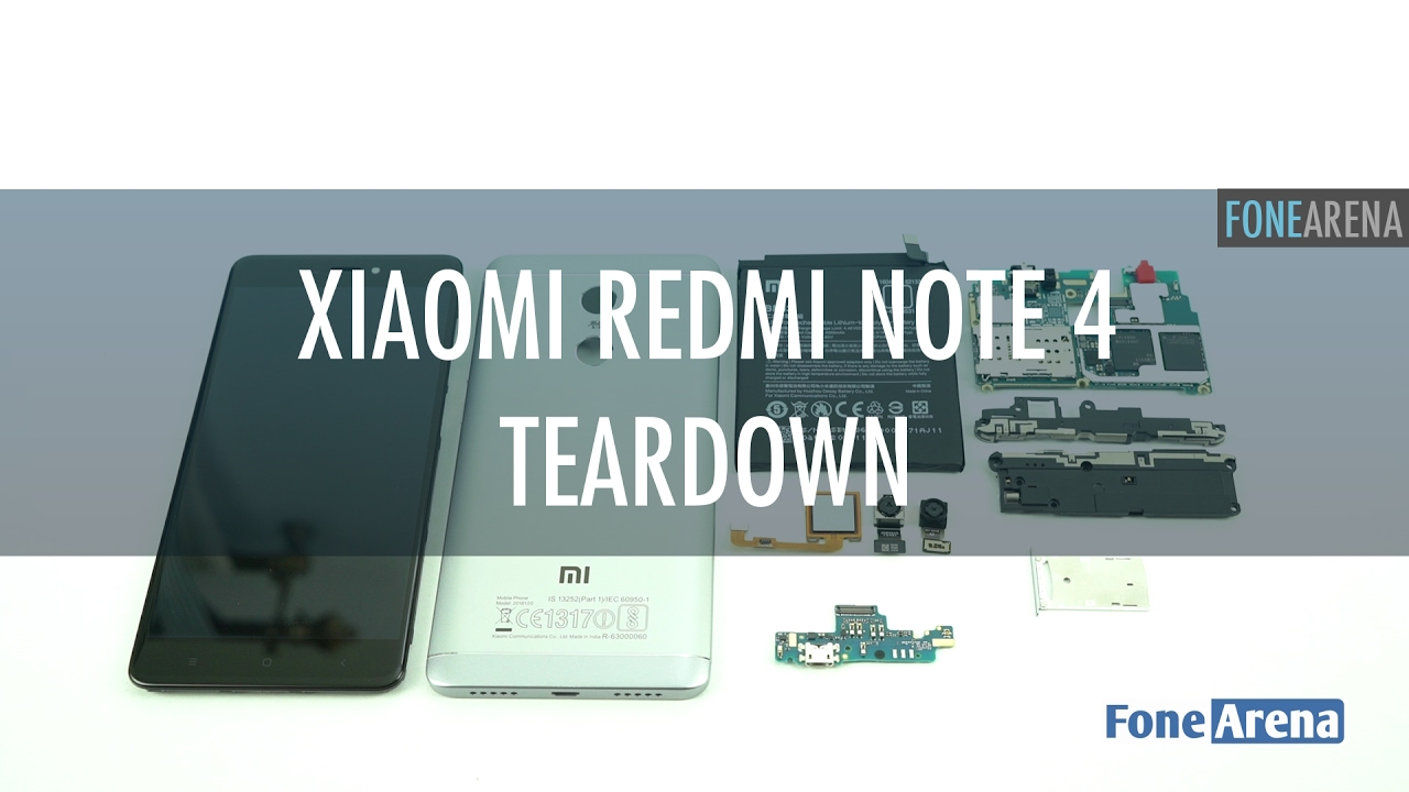 Xiaomi Redmi Note 4 Teardown