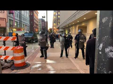 Black Lives Matter Protest In Grand Rapids