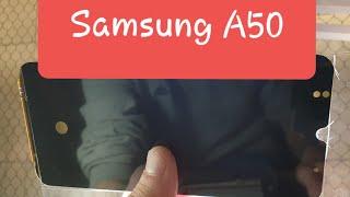 замена стекла Samsung A50 Самсунг разборка как разобрать а50 change glass replacement Samsung a50
