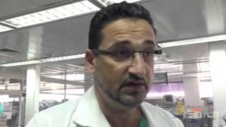 القدس- جولة بقسم جراحة قلب الأطفال بمستشفى المقاصد