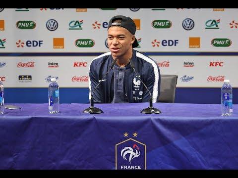 La conférence de presse de Mendy et Mbappé en replay, Équipe de France I FFF 2018