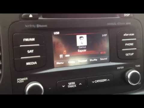 Kia Optima UVO hard drive USB Jukebox Download MP3 / WMA  music files to your radio pt1