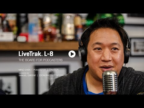 Overview : The Zoom LiveTrak L-8