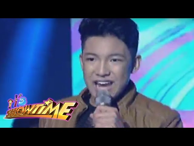 "It's Showtime: Darren Espanto sings ""In The Name Of Love"""